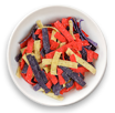 Tri-Coloured Tortilla Strips